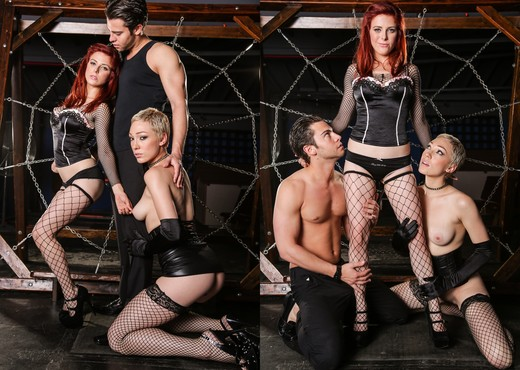 Penny Pax, Lily LaBeau - Shades Of Kink #02 - BDSM Porn Gallery