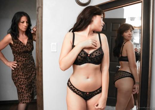 Melissa Monet, Ava Dalush - Lesbian Babysitters #12 - Lesbian Sexy Photo Gallery