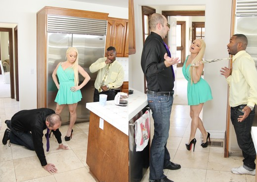 Nikki Delano - Mom's Cuckold #18 - Interracial Nude Gallery