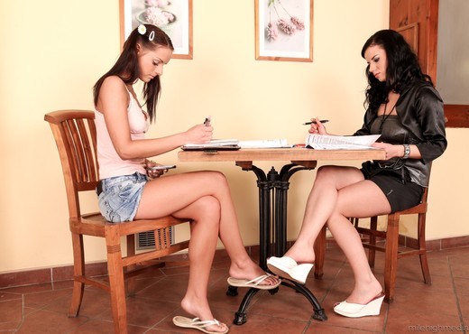 Kari, Winnie - A Lesbian Adventure - Old Vs Young #09 - Lesbian Hot Gallery