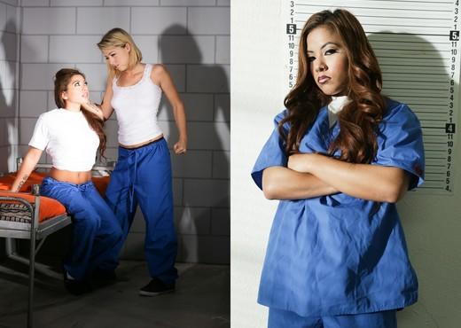 Zoey Monroe, Morgan Lee - Prison Lesbians #03 - Lesbian Picture Gallery