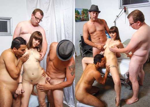 Nelly Jay - We Wanna Gang Bang The Babysitter #09 - Hardcore TGP