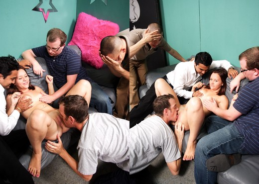 Kristy Shannon - Cuckold Gang Bang #04 - White Ghetto - Hardcore Nude Gallery