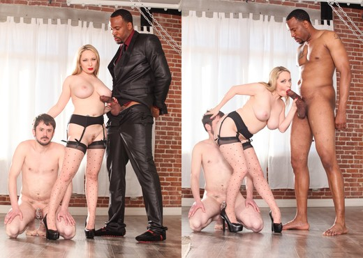 Aiden Starr, Slave Fluffy - Horny Cuckold Bitches - Interracial Hot Gallery