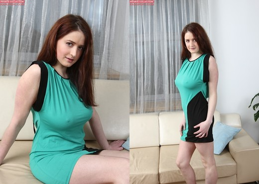 Maria Beaumont - brunette with a natural body - Solo TGP