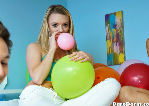 Alice March - Balloon Party - Dare Dorm - Amateur Hot Gallery