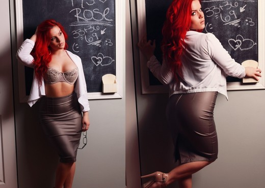 Harley is your sexy teacher! - Solo Sexy Gallery
