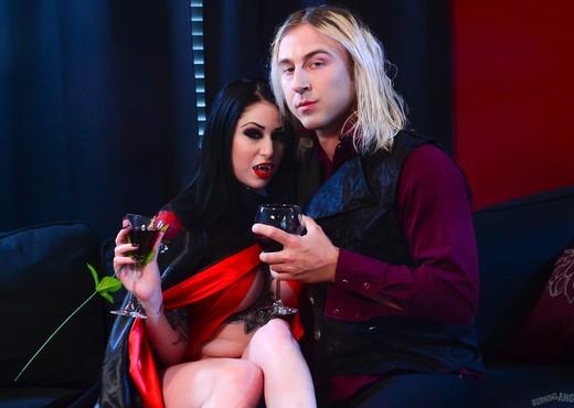 Ophelia Rain - Vampirella - Burning Angel - Hardcore Sexy Photo Gallery