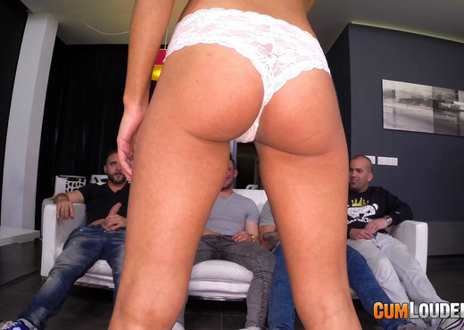 Apolonia's first gangbang - Hardcore Hot Gallery