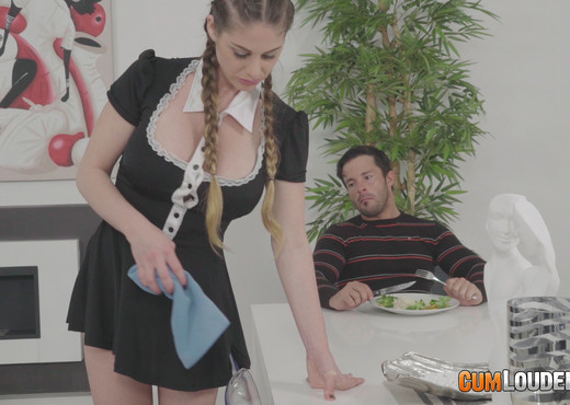 Cathy Heaven - Tight-ass maid gets it both ways - Anal Picture Gallery