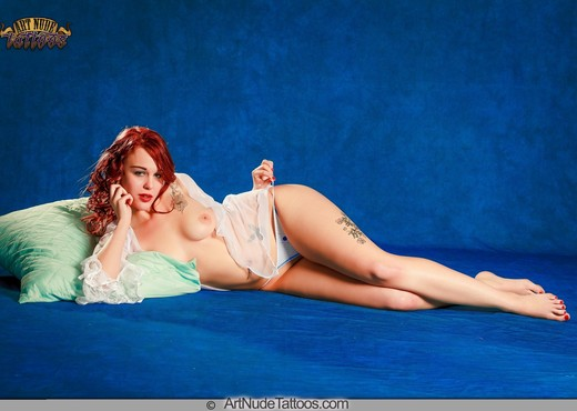 Find my Tattoos! - Ariel - Art Nude Tattoos - Solo Nude Gallery