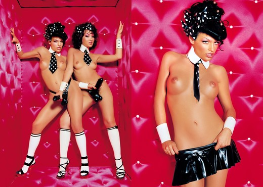 Nina Roberts & Katsuni - Private Classics - Lesbian Hot Gallery