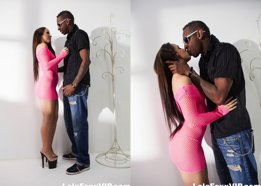 Lola Foxx gets pounded by big black cock - Interracial Image Gallery