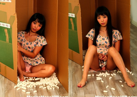 Japanese cutie Marica Hase is his personal sex doll - Asian TGP