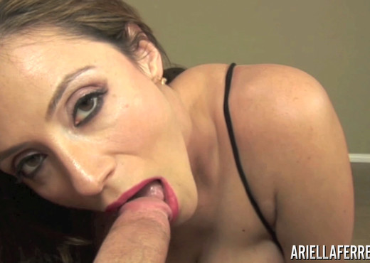 Ariella Ferrera in Big Titty Cock Sucking - Blowjob Picture Gallery