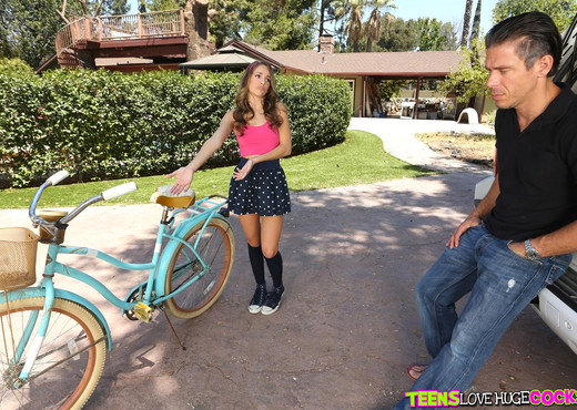 Kimmy Granger - Bikes And Buttplugs - Teens Love Huge Cocks - Teen Hot Gallery