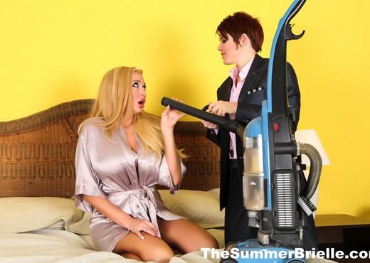 Summer bangs sexy salesman Lily - Summer Brielle - Lesbian Hot Gallery