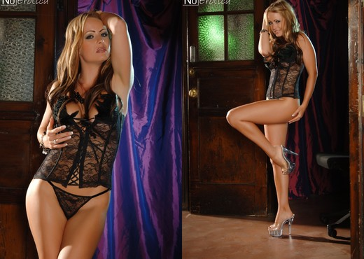 Emma In Black Lingerie - NuErotica - Solo Hot Gallery