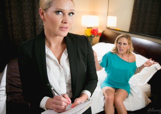 The Art of Older Women: Part Four - Girlsway - Lesbian TGP