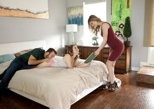 Jillian Janson, Kinsley Eden - Dirty Blondes - Nubile Films - Hardcore Sexy Gallery