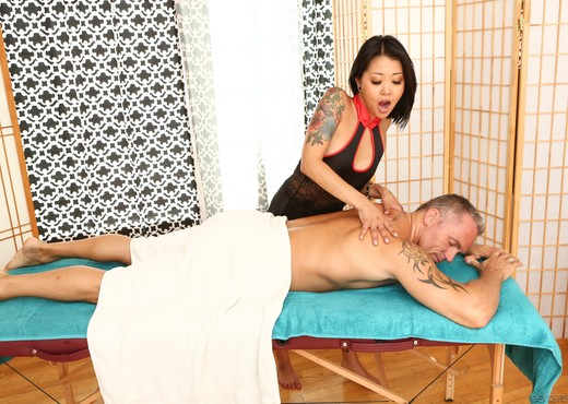 Saya Song - Asian Strip Mall Massage #02 - Devil's Film - Asian Nude Pics