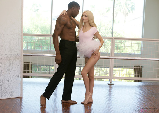 Elsa Jean - Sweet Moves - Petite Ballerinas Fucked - Interracial Hot Gallery