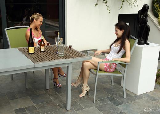 Ann Marie La Sante, Blue Angel - Drinking & Experimenting - Lesbian TGP