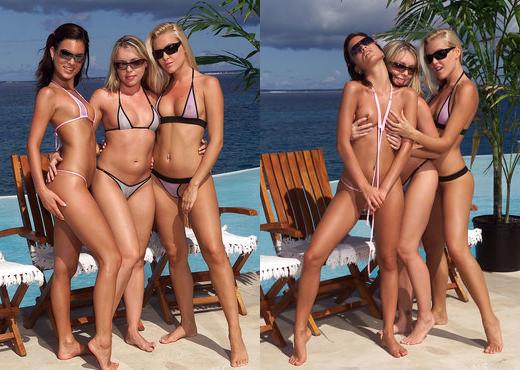 Nella, Sophie Moone, Trisha Uptown - Nella, Sophie & Trish - Lesbian Hot Gallery