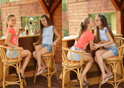 Cayenne, Tina Blade - Liquored Lesbos - ALS Scan - Lesbian Picture Gallery