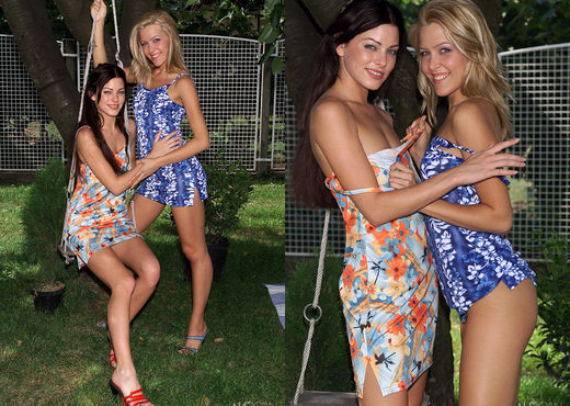 Alice, Sophie Moone - Their Spot - ALS Scan - Lesbian Picture Gallery