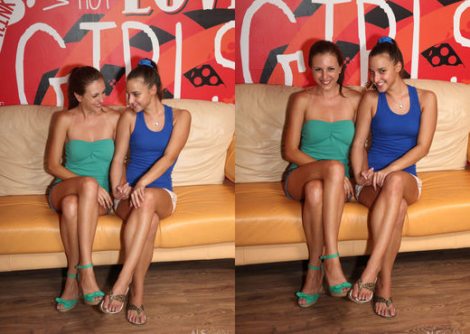 Amirah, Silvia James - Tribadism - ALS Scan - Lesbian Image Gallery