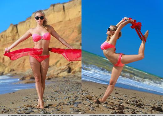 Alessandra A - Presenting Alessandra - MetArt - Solo Nude Pics