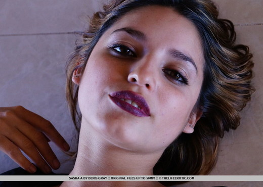 Sasha A - Close Up 1 - The Life Erotic - Solo Image Gallery