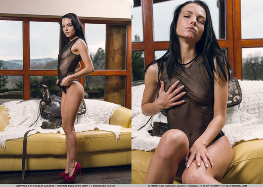 Sapphira A - Mon Amour - The Life Erotic - Solo Picture Gallery