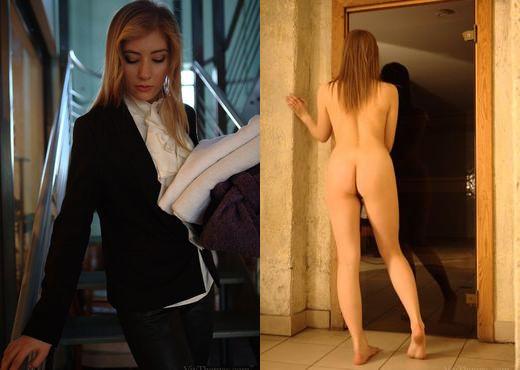 Aleska A, Vanessa I - Towels Please - Viv Thomas - Lesbian TGP