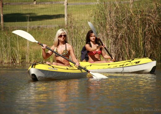 Tess A, Tracy Lindsay - Canoe Adventure - Viv Thomas - Lesbian Porn Gallery