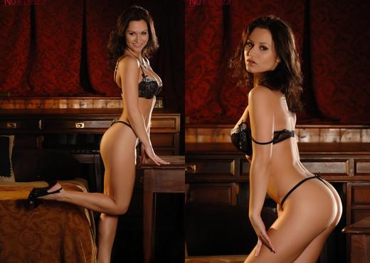 Sasha Sexy In Black - NuErotica - Solo Nude Pics