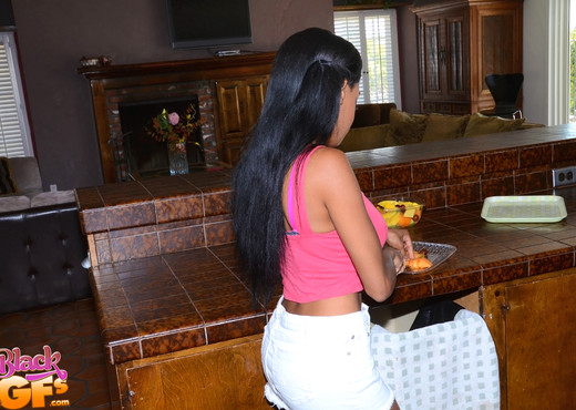 Brittany White - Sweet Taste - Black GFs - Ebony Nude Pics