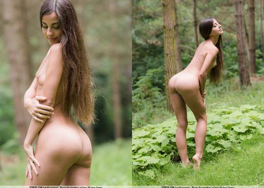 Deep Woods - Lorena G. - Femjoy - Solo Nude Gallery