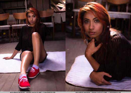 Maya Virdi - The Attic - The Life Erotic - Solo Picture Gallery