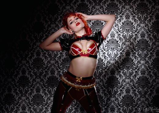Ulorin Vex - Lotsa Latex - Holly Randall - Solo Sexy Photo Gallery
