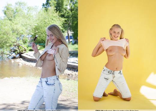 Happy - Darina A. - Femjoy - Solo Nude Gallery