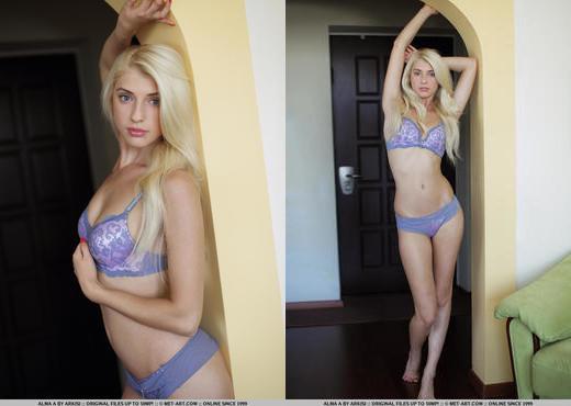 Alma A - Presenting Alma - MetArt - Solo Nude Gallery