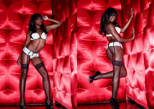 Ana Foxxx - Red Hot Foxxx - Holly Randall - Ebony Sexy Photo Gallery
