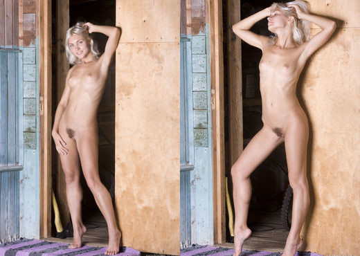 Kristy - The Front Door 1 - Erotic Beauty - Solo Sexy Photo Gallery