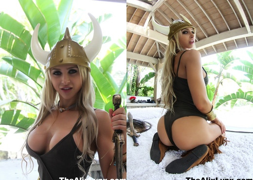 Alix the sexy Viking - Alix Lynx - Solo Sexy Photo Gallery