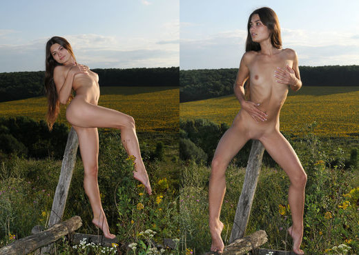 Konstansija A - On The Prairies - Erotic Beauty - Solo Sexy Photo Gallery