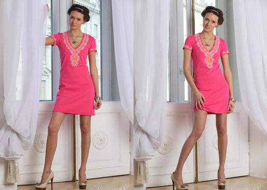 Lucy G - Pink Dress - Stunning 18 - Teen TGP