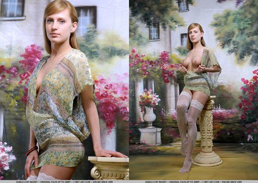 Gisele A - Nimede - MetArt - Solo Nude Pics