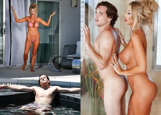 Courtney Taylor - Neighbor's Snobby Wife - Fantasy Massage - MILF HD Gallery